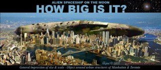 052a-Alien-spaceship-on-the-moon-Ship-Size comparison with urban structures best-image-
