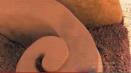 Mars Face - Hathor Horns