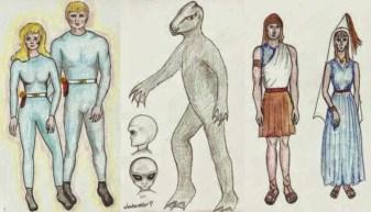 ET aliens contactee ufo