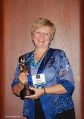 Katgkeeb Marden MUFON 2012 Researcher of the Year award