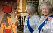 Stolen from Isis. A crown. Queen Elizabeth II.
