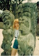 Janet Kira Lessin & Tiki's on Oahu circa 1994 (16)