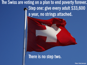 Basic Income switzerland