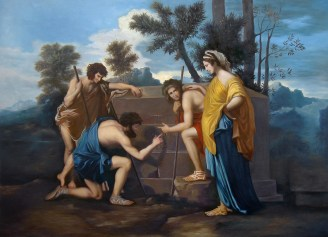 Nicholas Poussin The Shepherds of the Arcadia poussin-r1