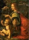 Virgin of Rocks (London and Louvre) -Leonardo Da Vinci-Angel Louvre