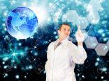 14615627-The-genetics-medicine-future-Stock-Photo-medical-technology-health