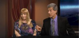 Janet Kira Lessin & Dr. Sasha Lessin on Cosmic Cafe Show 3978956Capture