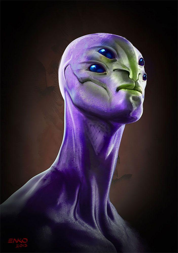 Sự sống ngoài trái đất có thể được bao phủ bởi màu tím