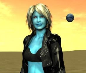 Blue Aliens BLUE2
