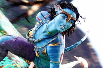Blue Aliens Neytiri-played-by-Zoe-Saldana-in-Avatar