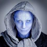 Blue Aliens Zhaan