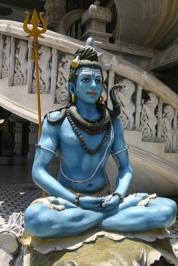 India's God Shiva in Degli