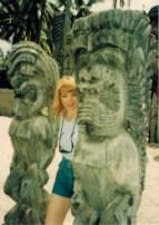 Janet-Kira-Lessin-Tikis-on-Oahu-circa-1994-16