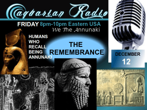 aquarian poster thursday - we the annunaki - rememberances (1)