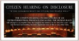 citizen-hearing on disclosure CitizenDisclosurer