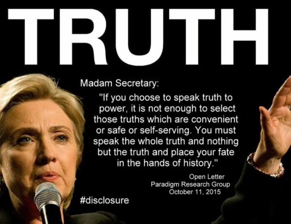 Truth Madam Secretary