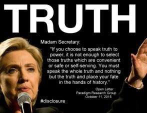 Steve Bassett Truth Madam Secretary