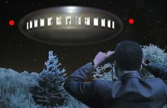Barney Hill Vewing Alien Craft