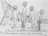 alien abduction contactee Andreasson-Watchers-Tall