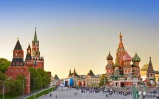 Fort Complex Kremlin Moscow