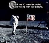Moon Landing Moon in sky 556960840