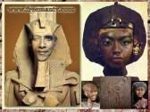 Obama clone Egyptian Pharaoh