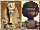 Obama clone Egyptian Pharaoh