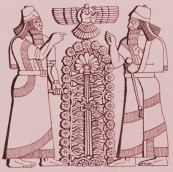 Trees of Life & Knowledge blog-assyrian-tree
