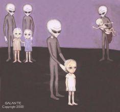 Alien Hybrid Children b4420f74d29e455b1b3e01f24e6010be--alien-abduction-space-aliens