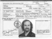 Richard Alan Miller 1973 Passport