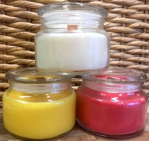 Soy Candles (Sweet Meyer Lemon, Cranberry & Coconut)