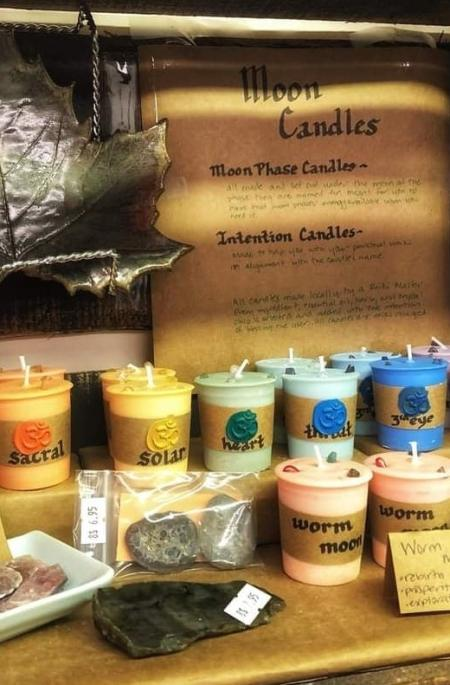 moon candles by amie