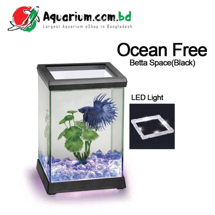 Betta Space Tank(Black)