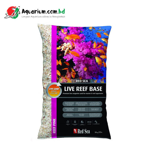Live Sand - Red Sea Live Reef Base, Pink
