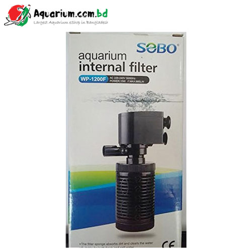 Aquarium Internal Filter SOBO WP-1200F