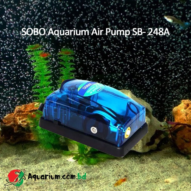 Aquarium Air Pump SOBO SB-248A