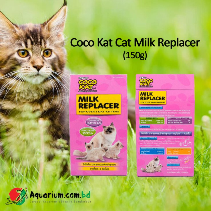 CoCo Kat Milk Replacer For Kittens (150gm)