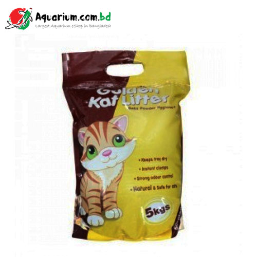Golden Kat Litter(Apple Flavored)- 5kgs
