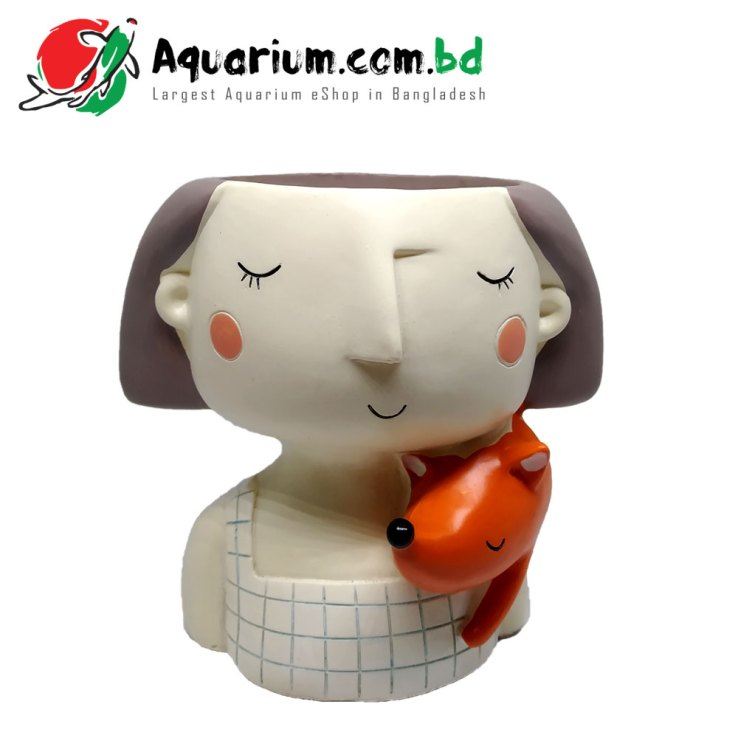 Doll Plant Pot for Aquarium