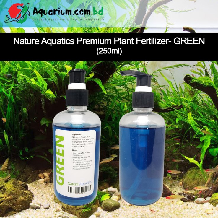 Premium Nature Aquatics Fertilizer- GREEN(250g)
