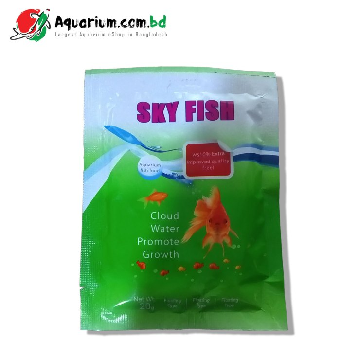 Sky Fish- aquarium fish food(20g)