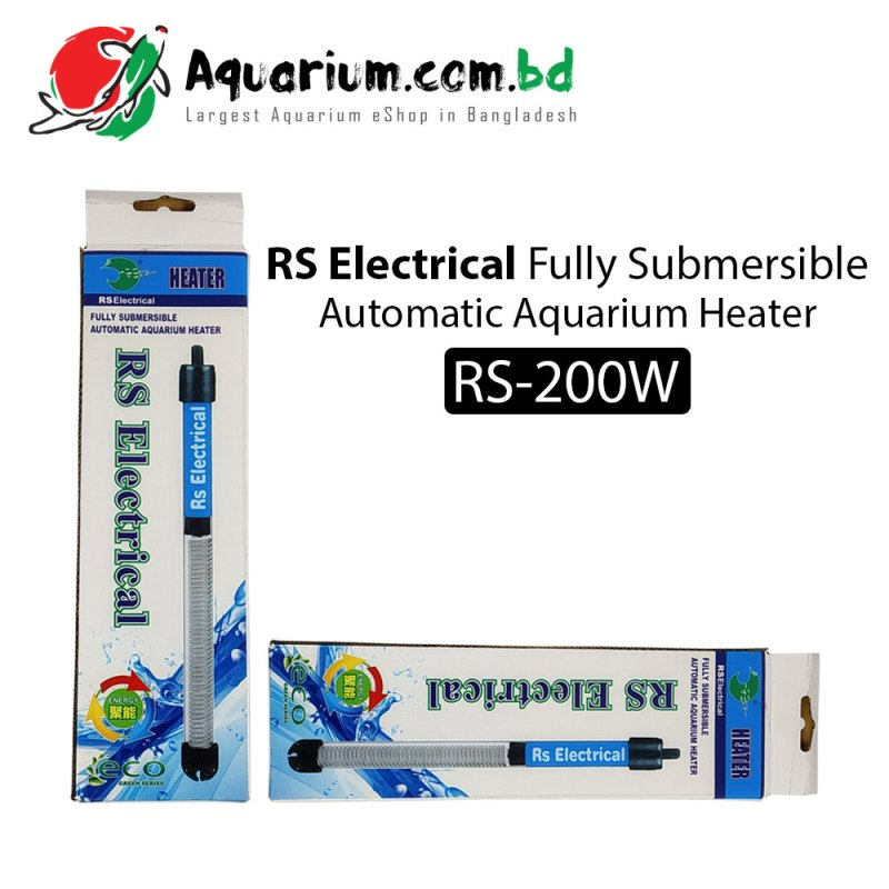 RS Electrical Automatic Aquarium Heater(RS-200W)