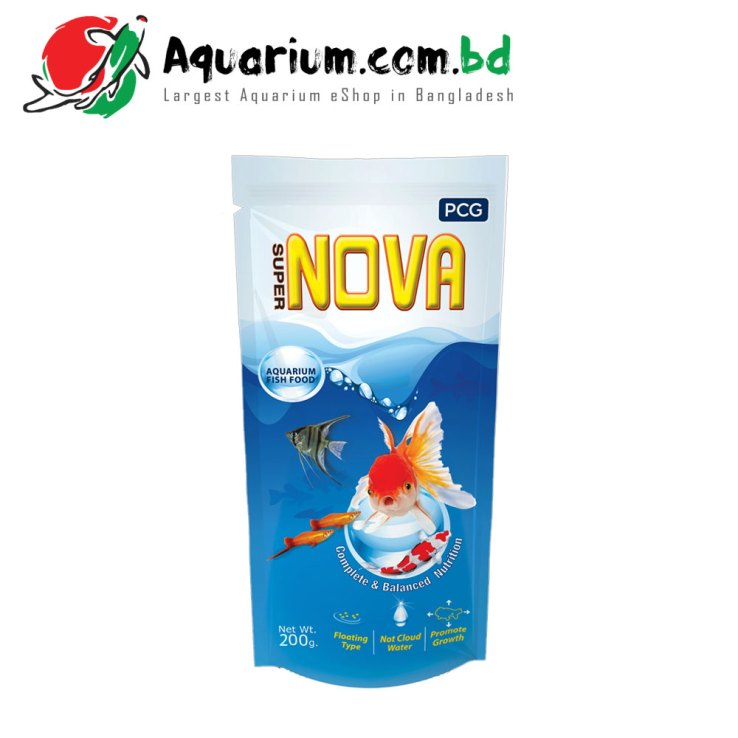 Super Nova- Aquarium Fish Food(200g)