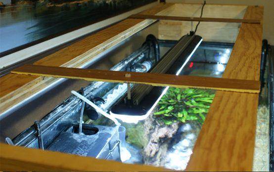 Download How To Make Aquarium Hood Light Plans Diy Kitchen