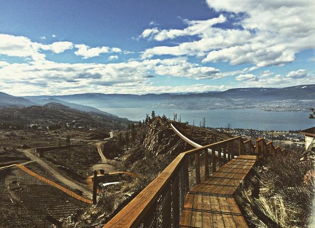 Kelowna Mountain Suspension Bridges, Kelowna