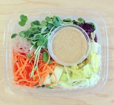Scrumptious salad from The Juice Truck. Photo via: https://instagram.com/juicetruck/.