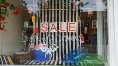 Window shopping at Sylvie and Shimmy. Photo by: Leviana Coccia.