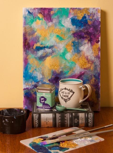 Jane Eyre 50g tea by First Edition Tea Co. Photo Courtesy of Stephanie Sandercock.