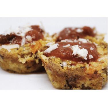 Quinoa Pizza Bites. Via: www.instagram.com/tacosandxanax/.