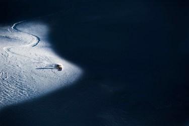 Skiers: Nat Segal location: Dolomites, Italy. Photo by Zoya Lynch.